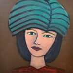 LEVITY 40 by 30 acrylic on gallery canvas