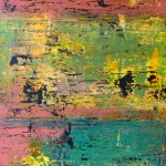 RUSTICA 24 by 36 acrylic on gallery canvas